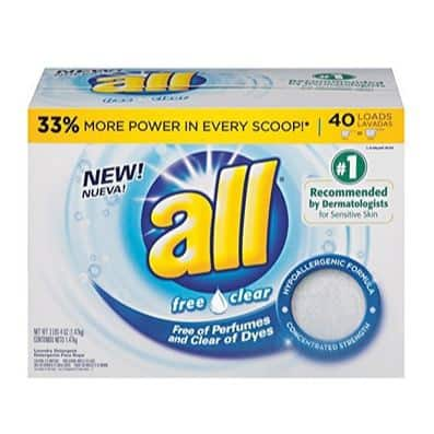 All Powder Laundry Detergent 52 Ounces Only $3.28
