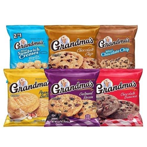 Grandma's Cookies Variety Pack 30 Count Only $10.48 #PrimeDay