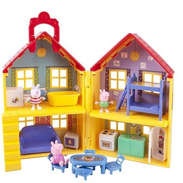 Peppa Pig Deluxe House Only $25.97