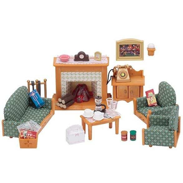 Calico Critters Deluxe Living Room Set Only $10.77 (Was $27.99)
