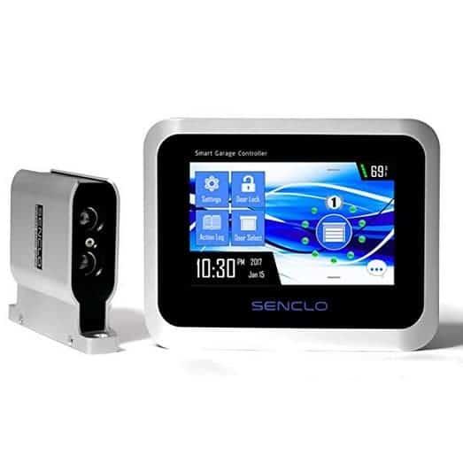 Senclo Fi Controller Set Smart Garage Door Opener with HD Touchscreen $250 **Today Only**