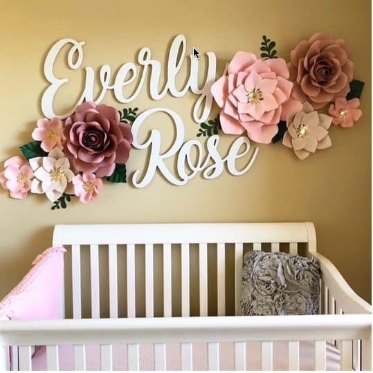 """Huge 60"""" First & Middle Name Signs $39.99"""