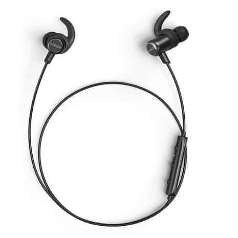 Anker SoundBuds Slim+ Waterproof Wireless Headphones with Built-in Mic Only $20.49