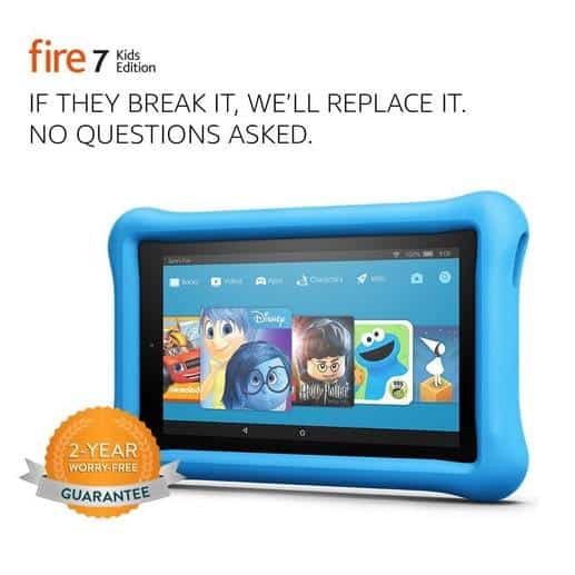 Fire 7 Kids Edition Tablet 16 GB with Kid-Proof Case ONLY $59.99 (Was $99.99)