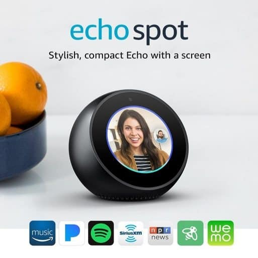 Echo Spot $89.99