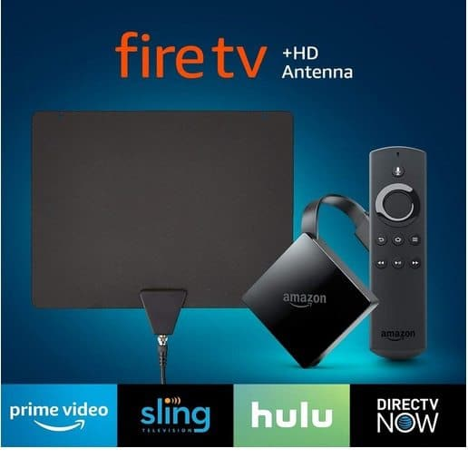 Fire TV with 4K Ultra HD + HD Antenna Only $39.99 (Was $89.98)