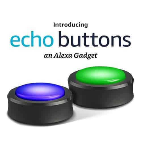 Echo Buttons 2-Pack Only $13.99
