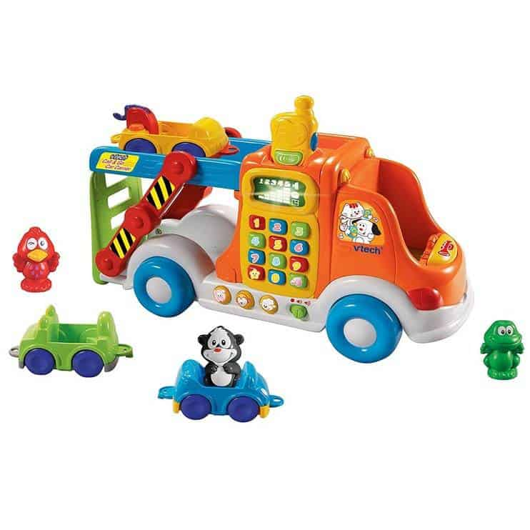 VTech Pull & Learn Car Carrier Only $14.56 #PrimeDay