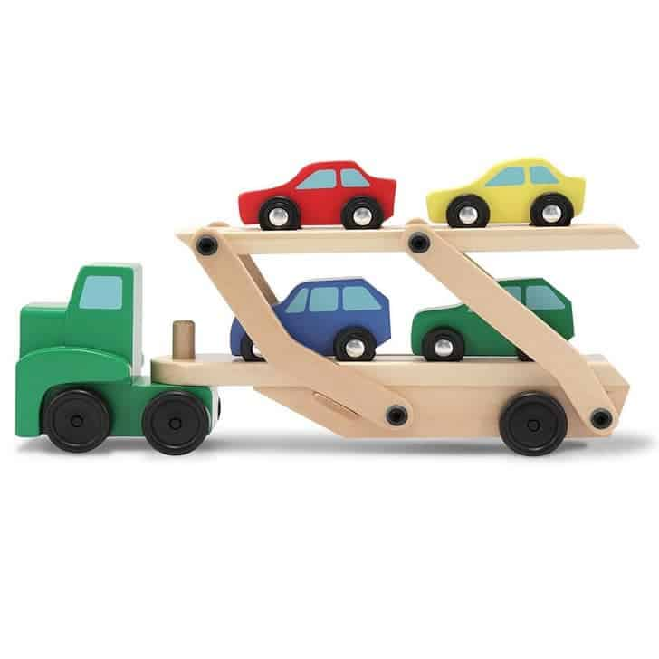 Up to 56% Off Melissa & Doug Toys ~ Car and Truck Carrier Toy Set Only $10.99 #PrimeDay