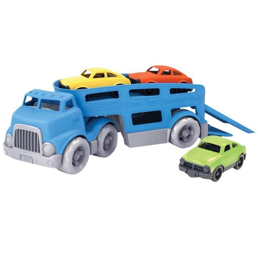 Green Toys Car Carrier Vehicle Set Toy Only $15.80 + $20 Off $100