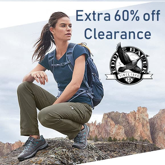 Eddie Bauer - EXTRA 60% off Clearance - Prices Start at $5.20