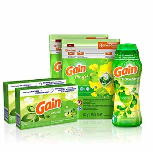 Gain Laundry Bundle Only $19.79 (Was $32.99) #PrimeDay