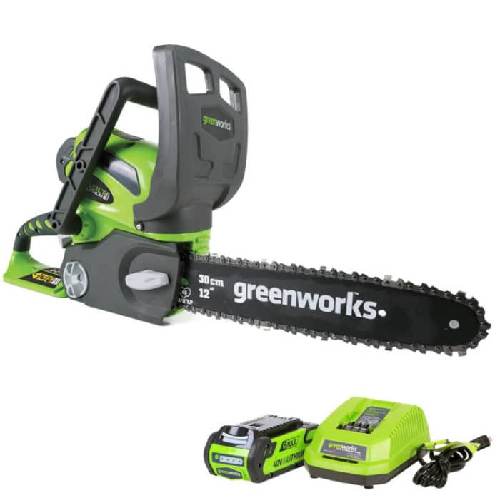 Greenworks 12-Inch 40V Cordless Chainsaw Only 2 (Was 0)
