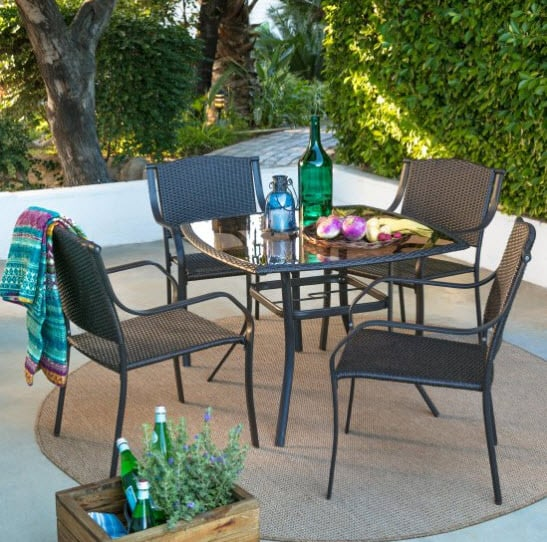 Coral Coast Valerie Metal Patio Dining Set $207 Shipped (Was $400)