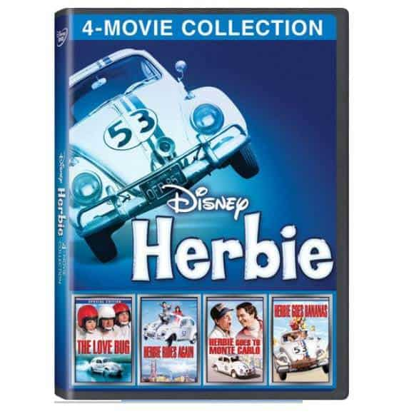 Disney Herbie 4-Movie Collection Only $7.49