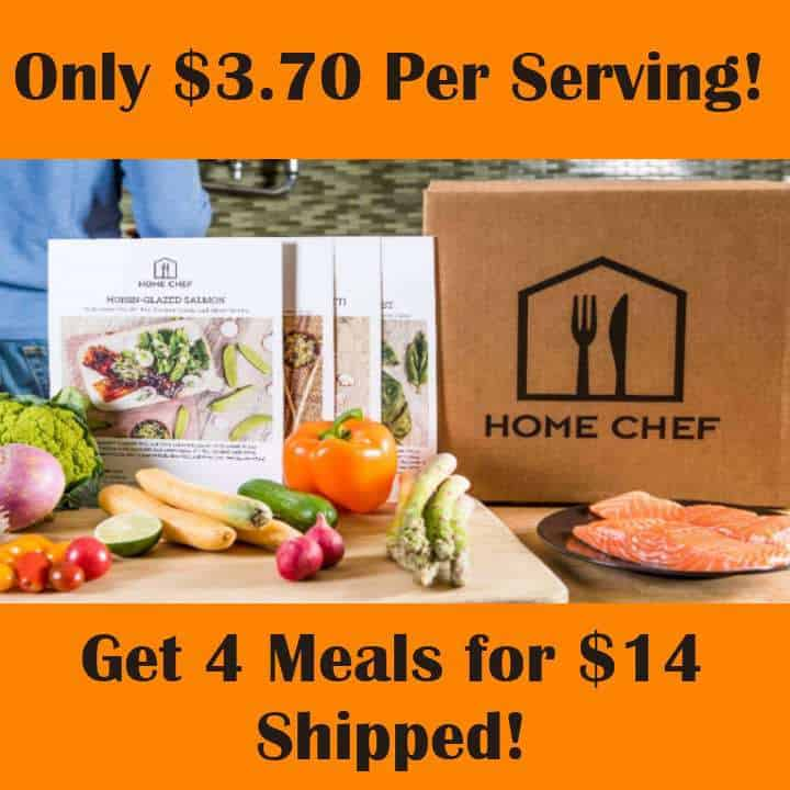 Home Chef Meals from $3.70 Each