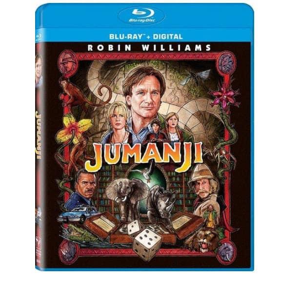 Jumanji Remastered Blu-ray + Digital Only $6.99 (Was $20)