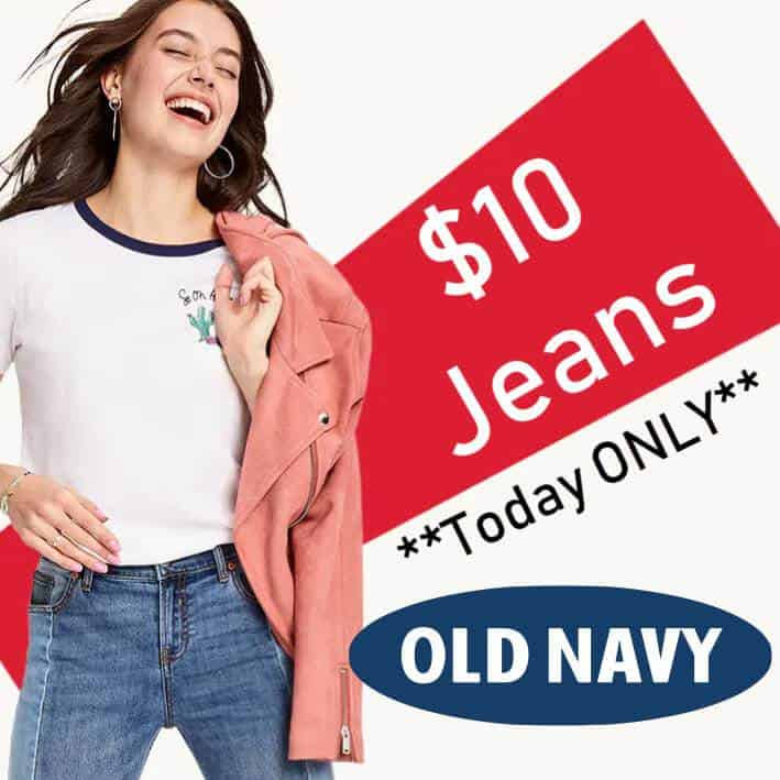 Old Navy Jeans for The Whole Family from $10