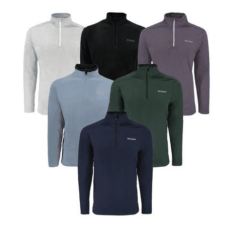 Proozy: 3 Pack of Columbia Men's Mystery 1/2 Zip Fleece ONLY $42 w/ Free Shipping (Was $120)