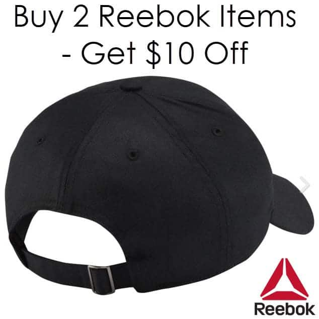 Reebok eBay Store: Buy 2 Items Get $10 Off - 2 Hats Only $5.99 Shipped & More