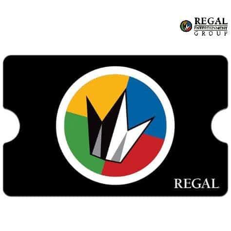 $20 Regal Cinemas eGift Card Only $10