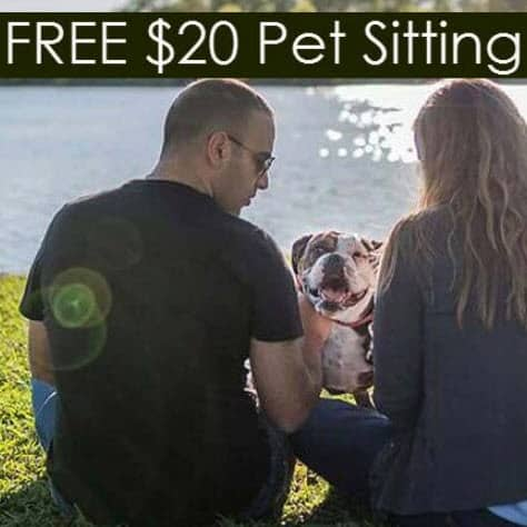 FREE $20 Rover Credit for Pet Sitting, Boarding, and More!