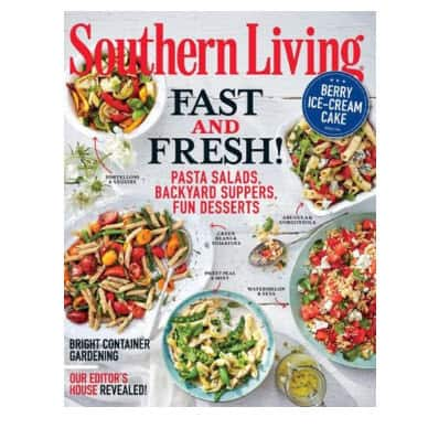 Southern Living Magazine Only $8.99/year