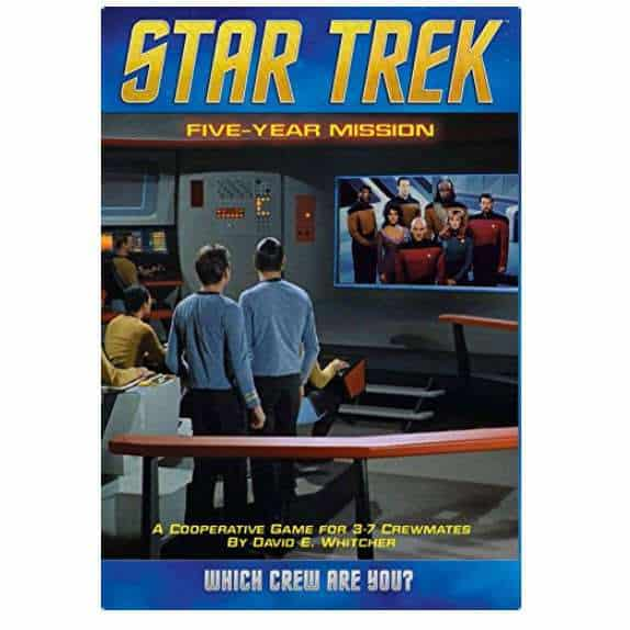 Star Trek: Five Year Mission Board Game Only $20.91 (Was $34.99)