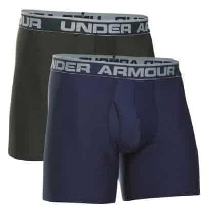 "2 Pack of Under Armour Men's Original Series 6"" Boxerjocks ONLY $14.88 (Was $35)"