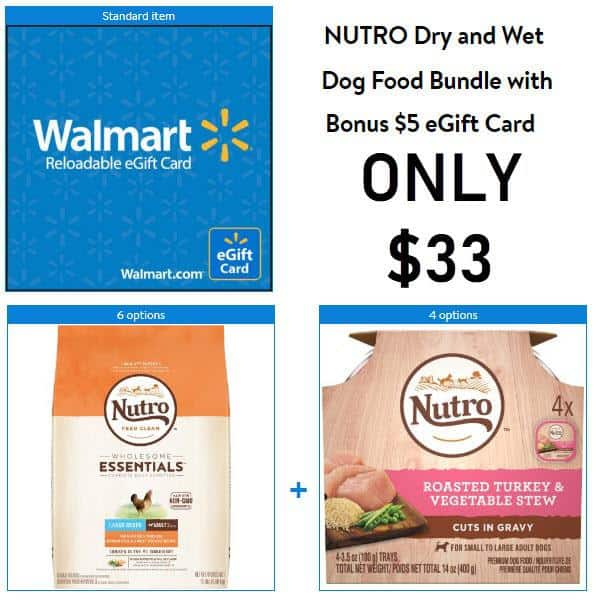 REALLY Great Nutro Dog Food Deal