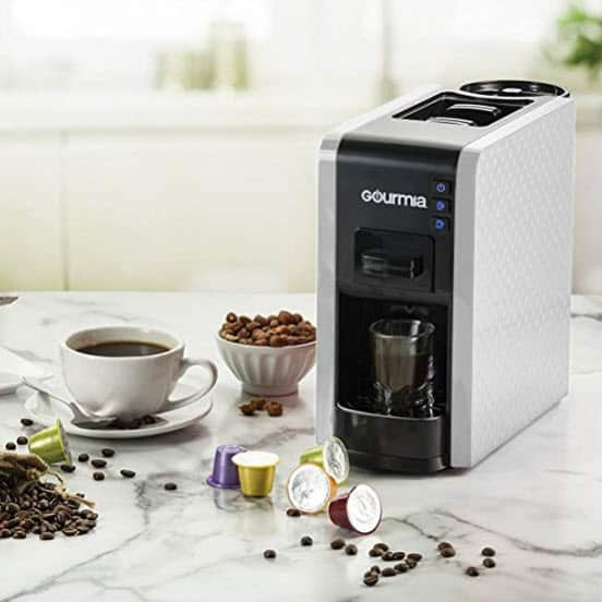 Gourmia 1 Touch Multi Capsule Espresso Coffee Machine Only $79.99 **Today Only**