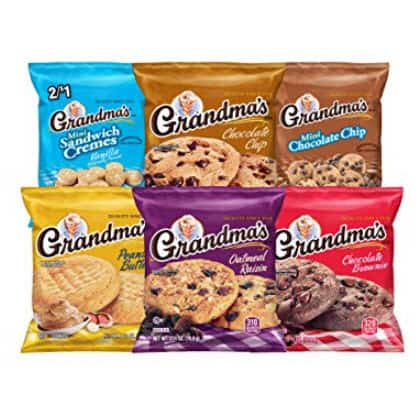 Grandma's Cookies Variety Pack, 30 Count Only $9.96