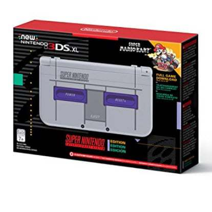 Nintendo New 3DS XL Super NES Edition + Super Mario Kart Only $149.99 (Was $199.99)