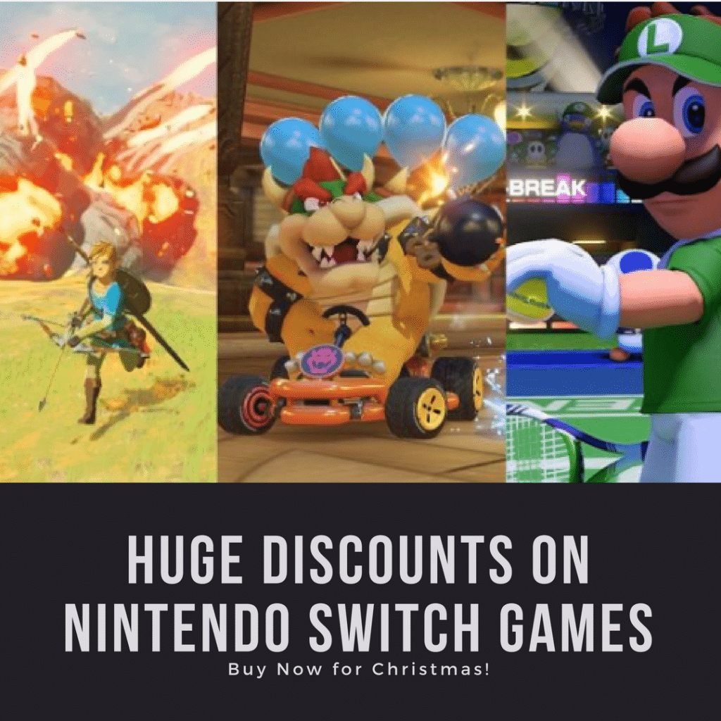 HUGE Discounts on Nintendo Switch Games