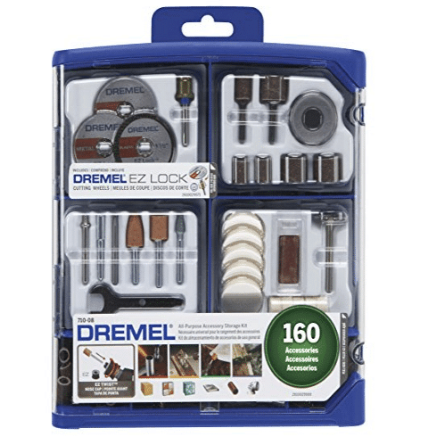 Dremel All-Purpose Rotary Accessory Kit, 160-Piece Only $19.99 (Was $44.74)