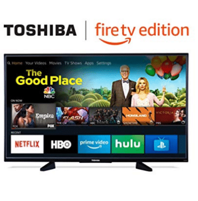 Toshiba 50-inch 4K Ultra HD Smart LED TV with HDR - Fire TV Edition $349.99