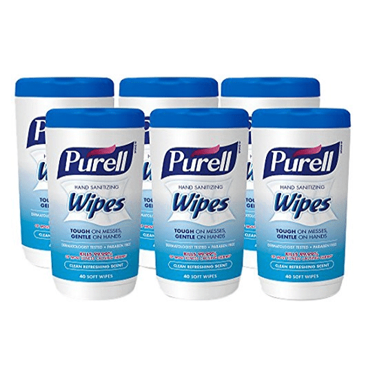 6 Pack of PURELL Hand Sanitizing Wipes Only $10.93 (Was $30.00)