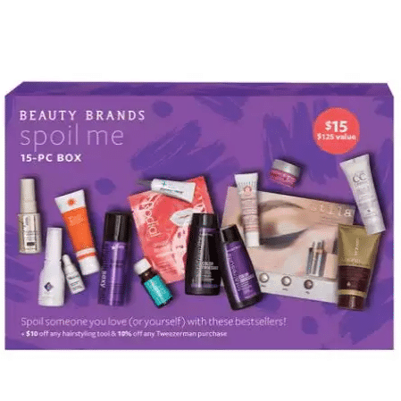 Beauty Brands Spoil Me 15-Piece Beauty Box Only $11.50 ($125 Value)