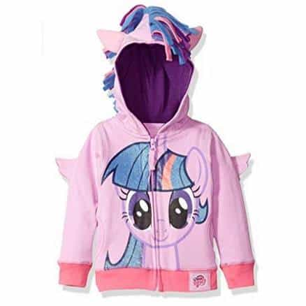 My Little Pony Girls' Twilight Sparkle Hoodie Only $5.63