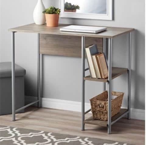 Mainstays Basic Metal Student Desk Only $29.99 **Multiple Colors**