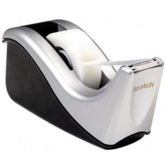 Scotch Desktop Tape Dispenser Silvertech Only $2.83