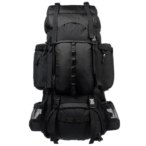 AmazonBasics Internal Frame Hiking Backpack with Rainfly $33.13 (Was $74.99)