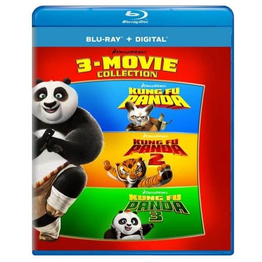 Kung Fu Panda: 3-Movie Blu-ray Collection Only $14.99 (Was $39.98)