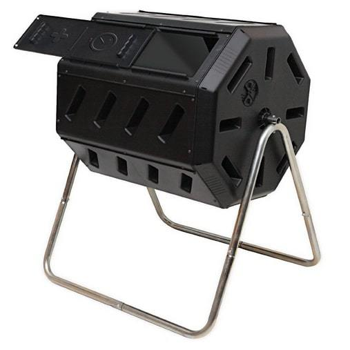 FCMP Outdoor IM4000 Tumbling Composter, 37 gallon, Black $80.05