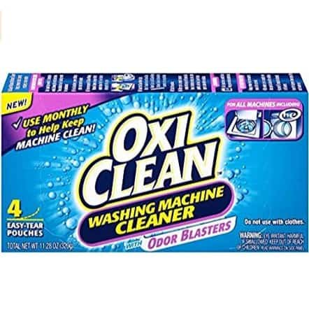 OxiClean Washing Machine Cleaner 4-Count Only $4.87