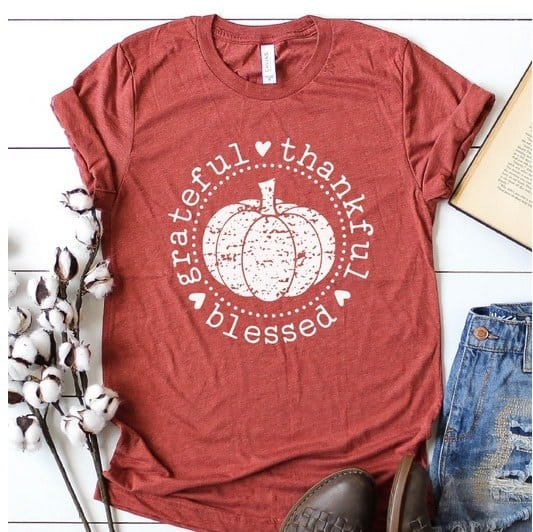 Perfectly Peach Boutique Fall Tees Only $13.99 **4 Designs**