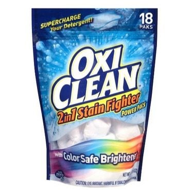 OxiClean 2-in-1 Stain Fighter Power Paks 18 Count Only $5.77