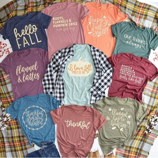 Fall Graphic Tees Only $13.99