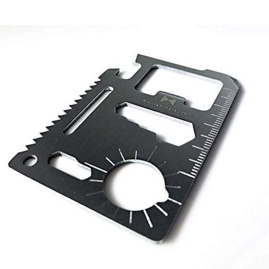 William Painter Multi-Purpose 12-in-1 Credit Card Pocket Tool Only $8.98