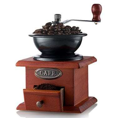 Gourmia Manual Coffee Grinder Artisanal Hand Crank Coffee Mill Only $12.00 **Today Only**